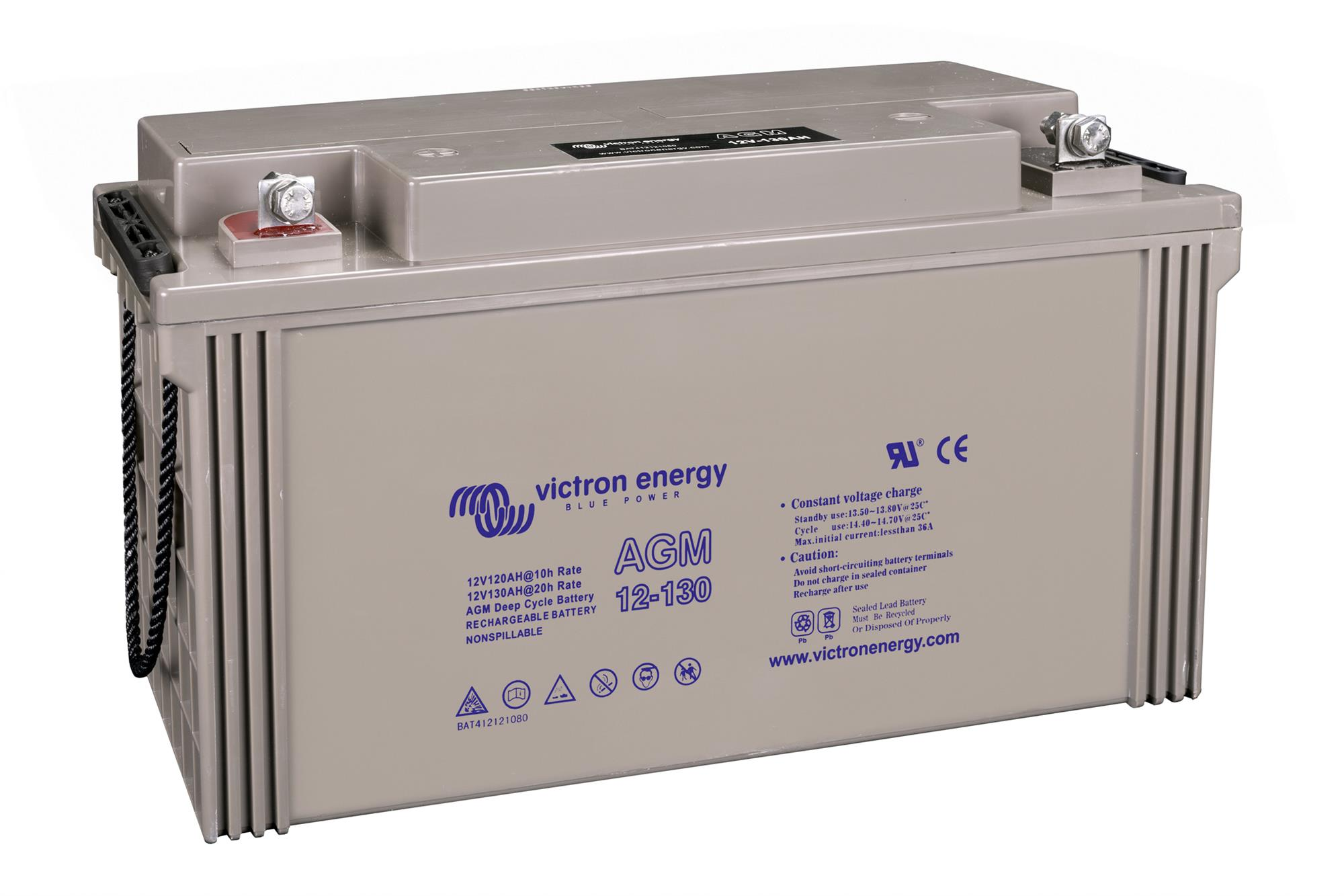 12V/130Ah AGM Deep Cycle Batt.