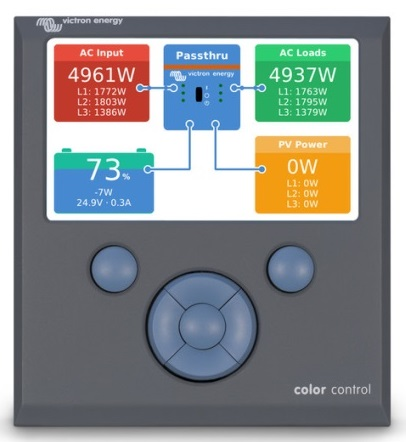 EasySolar 48/5000/70-100 MPPT 150/100 Color Control