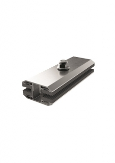 module clamp 6mm-TPE, 120mm alu